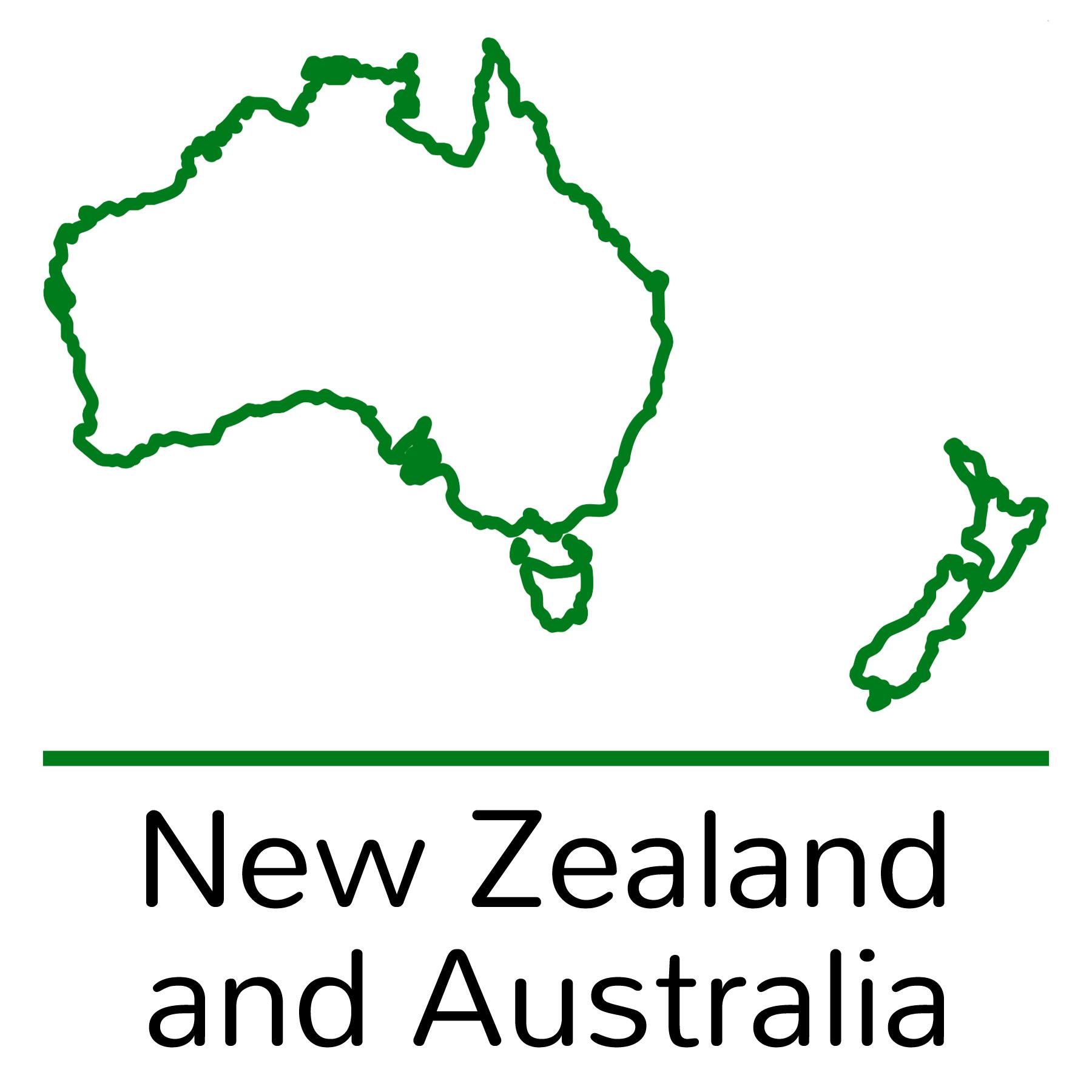 for New Zealand & Australia